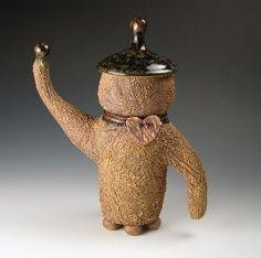TEA JAR BY GINA SKILLINGS