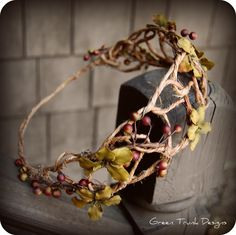 Woodland Berry Crown by JayaLee