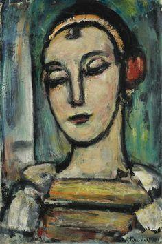 'Pierrette', 1939 - Georges Rouault (1871-1958)