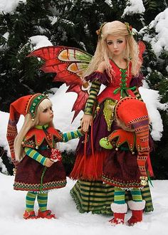 Holly and the Elves- I absolutely over the top love this!!!