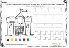 Os mostramosalgunasactividades impresas; de elaboración propia, sobre el proyectode la Edad Media.   En estas fichas; que se incluirán e...