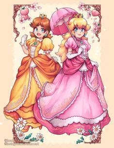 New Super Mario Bros, Super Mario Art, Super Mario Brothers, Super Smash Bros, Harmonie Mario, Super Princess Peach, Super Peach, Mario Fan Art, Peach Mario