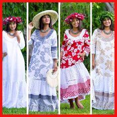 Hawaiian Wear, Hawaiian Muumuu, Samoan Dress, Sea Dress, Island Wear, Different Dresses, Costume Design, Muumuu Dresses, Dress Patterns