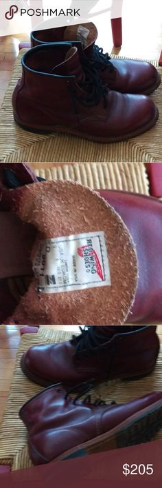 Red Wing Beckman size 9 Awesome Red Wings, feathersome leather.  Minor, minor wear. Red Wing Shoes Shoes Boots