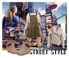 """nyfw street style"" by karensmedley on Polyvore featuring OTBT, ASOS and Sans Souci"