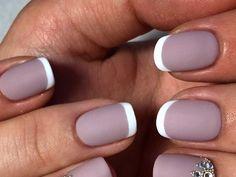 matt French manicure