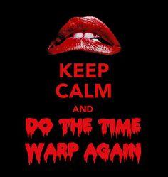 Let's do the time warp againnnnnnn.