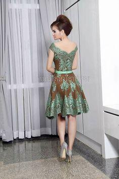 Trendy Dresses, Simple Dresses, Beautiful Dresses, Nice Dresses, Formal Dresses, Myanmar Traditional Dress, Traditional Dresses, I Dress, Lace Dress