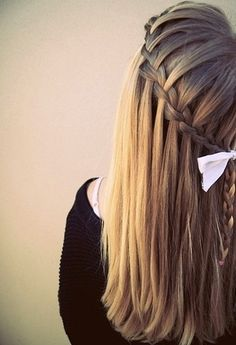 girls need perfect soft nice hair.