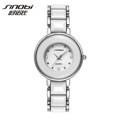 SINOBI Top Brand Watch Women Luxury Crystal Bracelet Watch Waterproof Full Steel Quartz-Watch Hour montre femme relogio feminino