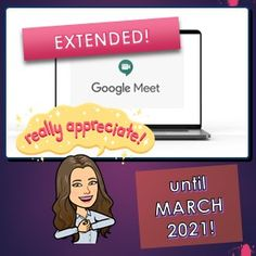 #GREATGOOGLE - Google Meet Extends FREE USAGE for 24 HOURS until March 2021