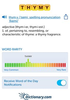 The best word I've seen today on Words with Friends is 'thymy'. Can you come up with a better one?