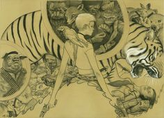 James Jean - Fables TPB 2: Animal Farm Comic Art