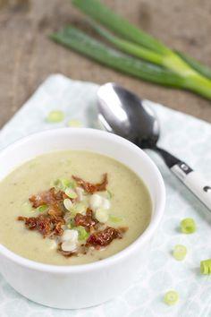 Lente ui-soepje, een lekker licht lente-soepje