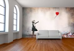 Street art for your home...complete with rubbish on the ground and everything!