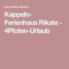 Kappeln- Ferienhaus Rikate - 4Pfoten-Urlaub