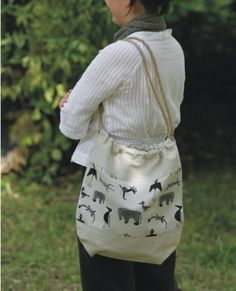 Romantic linen tote bag by adatine on Etsy, $27.00