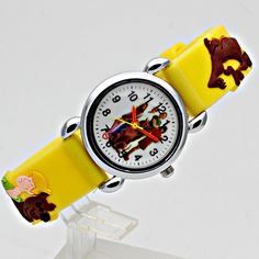 Children's Watches Waterproof Kids Watches Silicone Wristwatches Football Brand Quartz Wrist Watch Baby For Girls Boys Fashion Casual Reloj Y489 Attractive Fashion