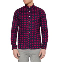 Saturdays Surf NYC Crosby Printed Button-Down Collar Cotton Shirt | MR PORTER  Saturdays snapped on this