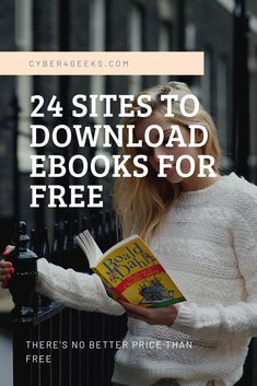 Looking for the next great book to sink your teeth into? Here's a list of 24 Websites where you can find a wealth of free e-books (yes, free e-books! Websites To Read Books, Life Hacks Websites, Free Books To Read, Learning Websites, Book Sites, Free Books Online, Books To Read Online, Good Books, Free Audio Books