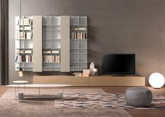 Whether you want a wall entertainment center or a custom bar, Pedini Miami has modern living room cabinets wall units solutions to fulfil your needs. Living Room Tv Unit, Living Room Cabinets, Coin Tv, Home Bar Cabinet, Wall Entertainment Center, Modern Home Bar, Modern Wall Units, Cabinet Parts, Custom Wall