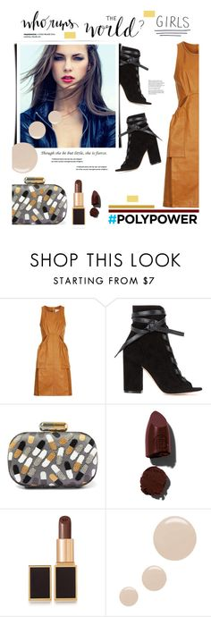 """What's Your Power Outfit?"" by edenslove ❤ liked on Polyvore featuring 3.1 Phillip Lim, Gianvito Rossi, Sarah's Bag, Lipstick Queen, Tom Ford, Topshop and PolyPower"