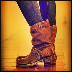 "Frye brand ""Veronica"" booties. I need these in size 11, color brown. -Cortney"