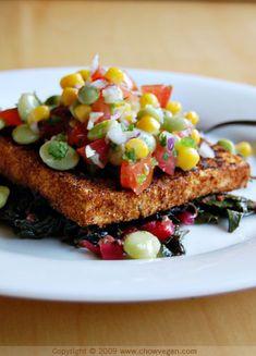 Blackened Tofu From Vegan Soul Kitchen