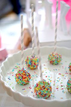 My sweet Welcome Cake Pops! <3