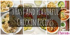 The average American eats 60 pounds of chicken a year. Here are some delicious, flavorful recipes to help you out with that!