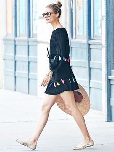 Olivia Palermo Just Wore a Dress Fashion Girls Will Freak Out Over ab4a2100e95