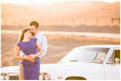 Taylerenerle.com - Tayler Enerle Photography Los Osos engagement session. Wedding photography, california Coast, Central Coast. Classic Car