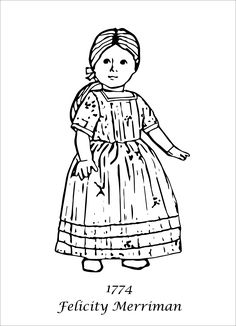 felicity merriman coloring pages - photo#1