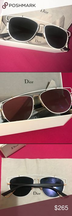 738182364943 Dior Technologic Aviator 57 mm Opened
