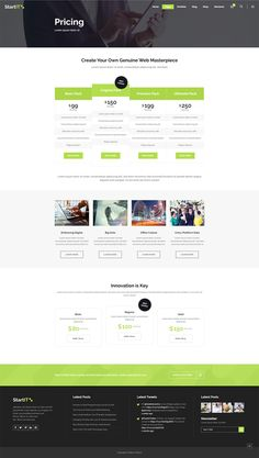 Get Startit WordPress theme and make your awesome business idea a reality! Types Of Technology, App Landing Page, Create Your Website, Building A Website, Layout Template, Start Up Business, Cryptocurrency, Wordpress Theme, Conference