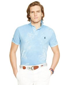 8aeb8a36 Tropical Mesh Polo Shirt - Polo Ralph Lauren Custom-Fit - RalphLauren.com