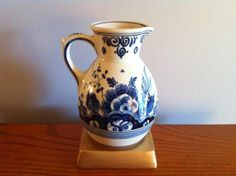 Charming Delft Blauw Royal Zuid Holland Hand by delovelyness, $79.65
