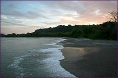 Tierra de los Milagros black sand beach, Costa Rica