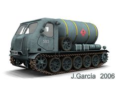 TRACKED TANKER VEHICLE | Flickr - Photo Sharing!