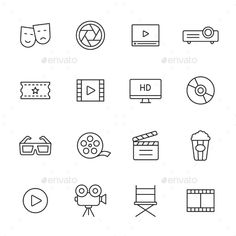Film und Kino Thin Line Icons Enthält Folgendes: Theatermasken (Comedy, t … - Theatergenres Pin Up Tattoos, Mini Tattoos, Small Tattoos, Geek Tattoos, Foot Tattoos, Sleeve Tattoos, Tatoos, Bullet Journal Writing, Bullet Journal Ideas Pages