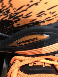 Prince Warrior black and orange. Prince Warrior, Warrior Shoes, Over Ear Headphones, Orange, Black, In Ear Headphones, Black People