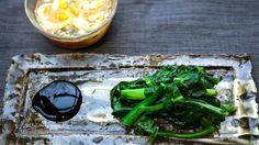 I just discovered this amazing recipe Chinese Broccoli with Egg Dipping Sauce on Panna by Chef Charles Phan! Food Network Recipes, Real Food Recipes, Cooking Recipes, Food Dishes, Side Dishes, Dishes Recipes, Panna Recipe, Asian Recipes, Ethnic Recipes