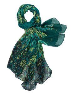 Sjaal print groen