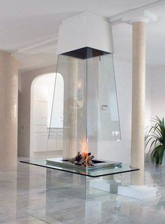 Now that's a fireplace! Courtesy of Touch of modern.