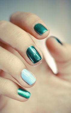ombre nails .