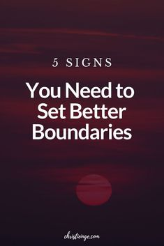 Boundary setting is an important part of creating healthy relationships. To grow personally or to grow as a couple it may be time to think about the boundaries in your relationships. Learn 5 signs that you may need to be setting stronger boundaries. #relationships #relationshipgoals #relationshiptips #couplegoals #relationshipadvice #boundaries #personalgrowth #selfcare #selflove #empowerment Mindfulness Techniques, Mindfulness Exercises, Mindfulness Activities, Mindfulness Practice, Mindfulness Quotes, Wellness Quotes, Wellness Tips, Healthy Relationships, Relationship Tips