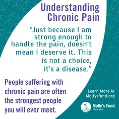Chronic pain is not a choice. If it was, we would choose something else. Please share this image to spread awareness about lupus, RA, Fibro and other, often invisible, but chronically painful autoimmune diseases. www.mollysfund.org