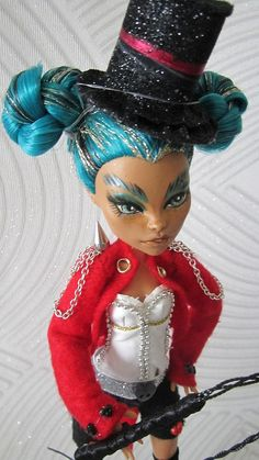 One of a kind monster high custom repaint by MidnightsTrinkets, $80.00