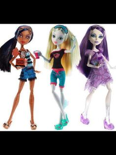 Monster High Dead Tired Wave 3 Collection (owned 3/3)