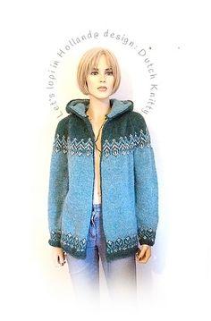 Let's LOPI in Holland©: een IJslands vest uit Nederland Vest, Denim, Knitting, Holland, Pattern, Sweaters, Jackets, Fashion, The Nederlands